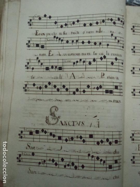 Libros antiguos: Curioso Cantoral Português Séc XVIII - Foto 102 - 142726294