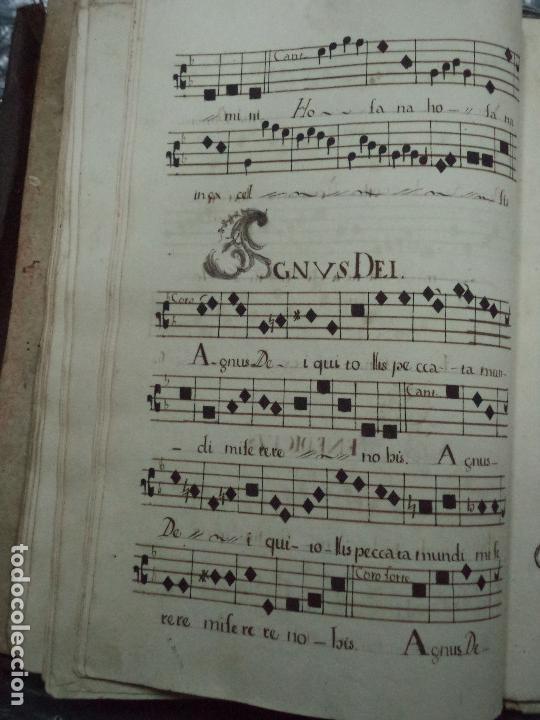 Libros antiguos: Curioso Cantoral Português Séc XVIII - Foto 104 - 142726294