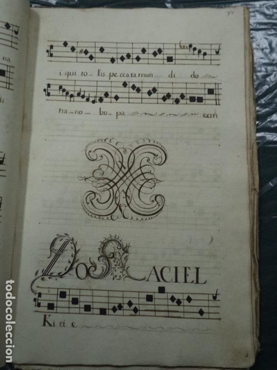 Libros antiguos: Curioso Cantoral Português Séc XVIII - Foto 105 - 142726294