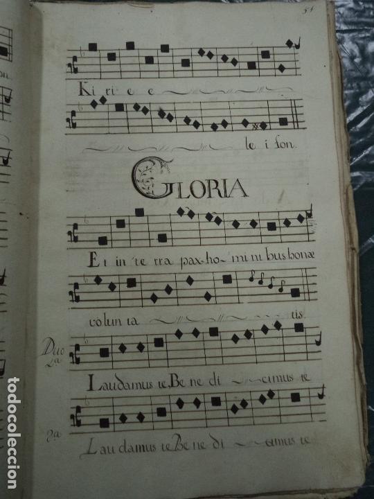 Libros antiguos: Curioso Cantoral Português Séc XVIII - Foto 107 - 142726294