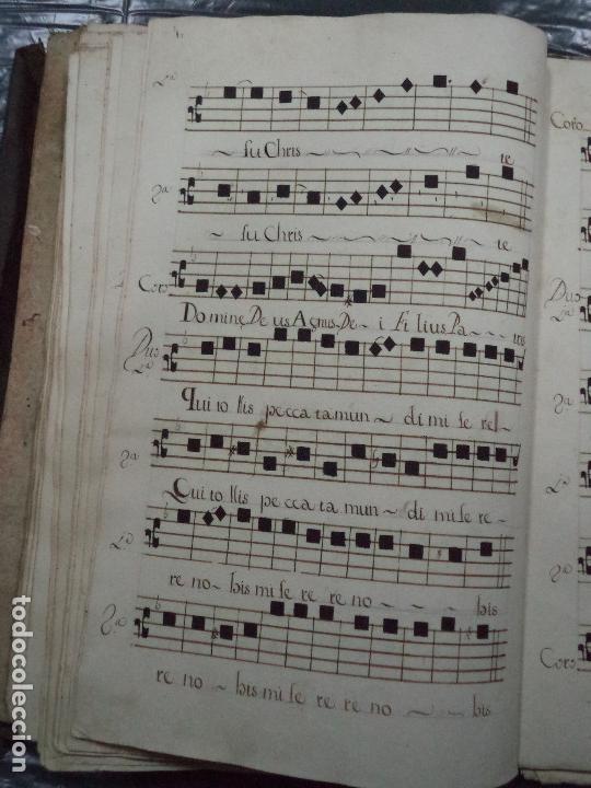 Libros antiguos: Curioso Cantoral Português Séc XVIII - Foto 110 - 142726294