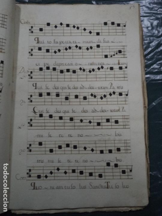 Libros antiguos: Curioso Cantoral Português Séc XVIII - Foto 111 - 142726294