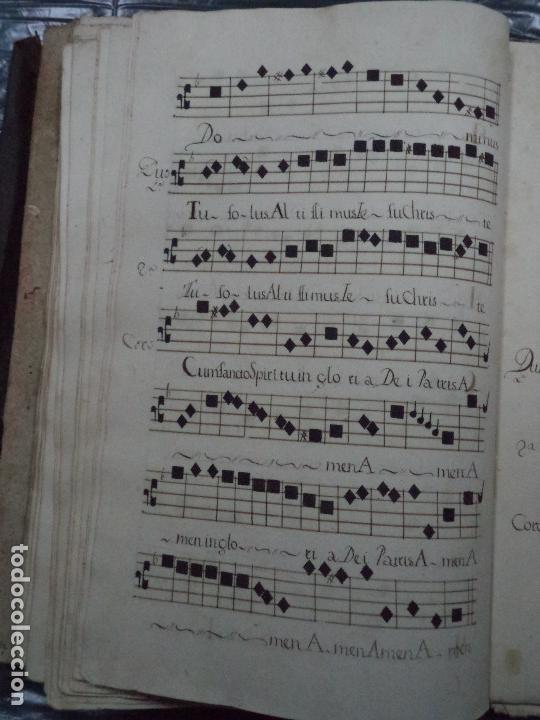 Libros antiguos: Curioso Cantoral Português Séc XVIII - Foto 112 - 142726294