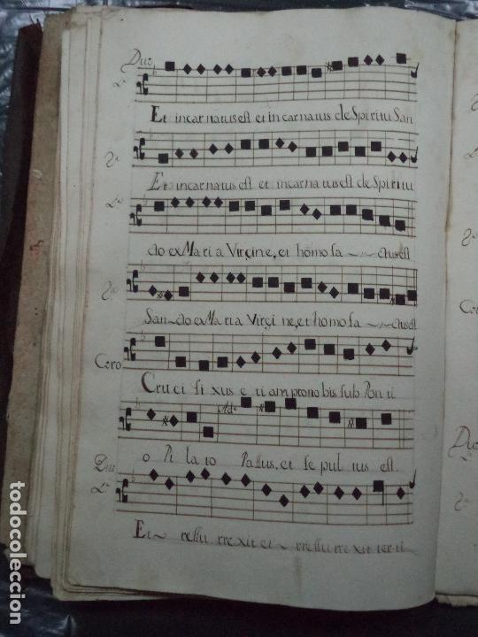 Libros antiguos: Curioso Cantoral Português Séc XVIII - Foto 116 - 142726294