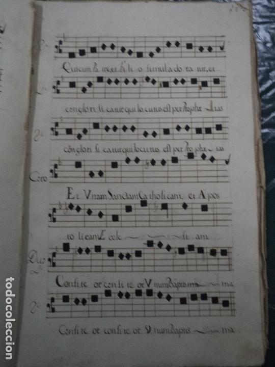 Libros antiguos: Curioso Cantoral Português Séc XVIII - Foto 119 - 142726294
