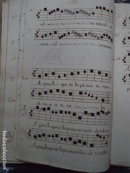 Libros antiguos: Curioso Cantoral Português Séc XVIII - Foto 124 - 142726294