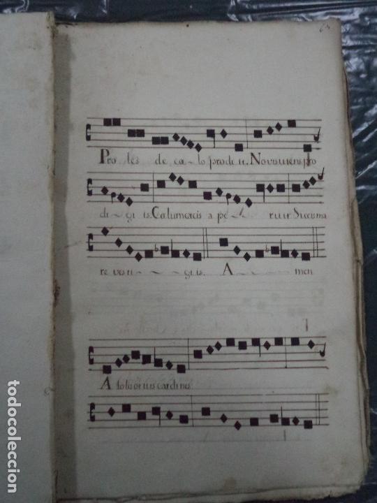Libros antiguos: Curioso Cantoral Português Séc XVIII - Foto 126 - 142726294