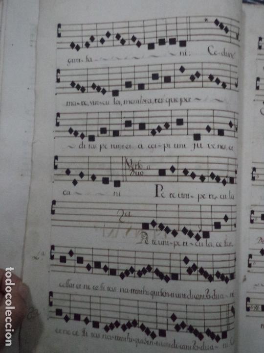 Libros antiguos: Curioso Cantoral Português Séc XVIII - Foto 129 - 142726294