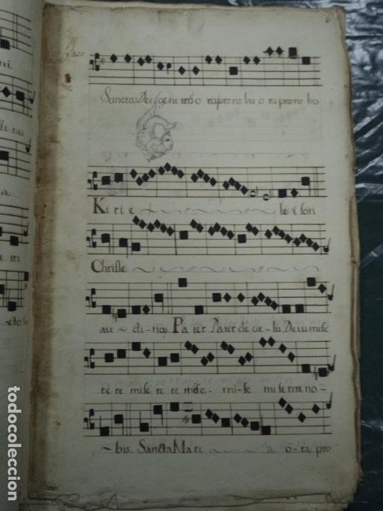 Libros antiguos: Curioso Cantoral Português Séc XVIII - Foto 132 - 142726294