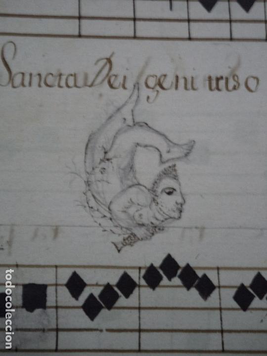 Libros antiguos: Curioso Cantoral Português Séc XVIII - Foto 133 - 142726294