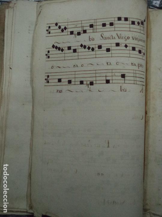 Libros antiguos: Curioso Cantoral Português Séc XVIII - Foto 134 - 142726294