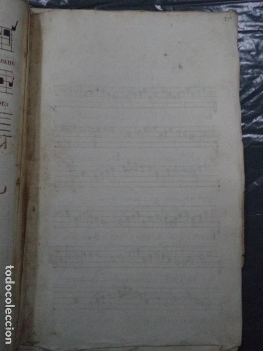 Libros antiguos: Curioso Cantoral Português Séc XVIII - Foto 135 - 142726294