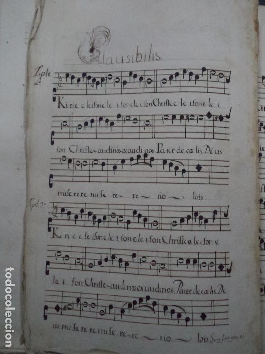 Libros antiguos: Curioso Cantoral Português Séc XVIII - Foto 136 - 142726294