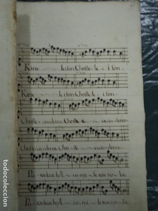 Libros antiguos: Curioso Cantoral Português Séc XVIII - Foto 137 - 142726294