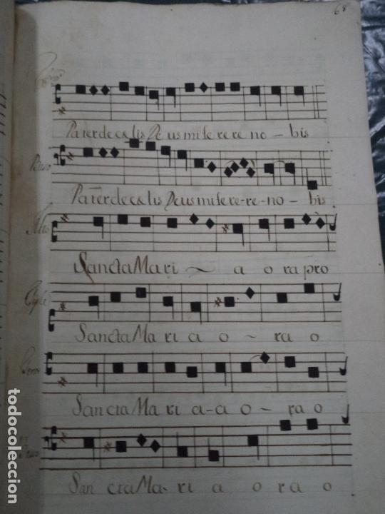 Libros antiguos: Curioso Cantoral Português Séc XVIII - Foto 141 - 142726294