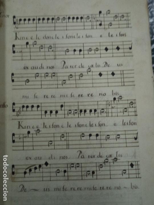 Libros antiguos: Curioso Cantoral Português Séc XVIII - Foto 143 - 142726294