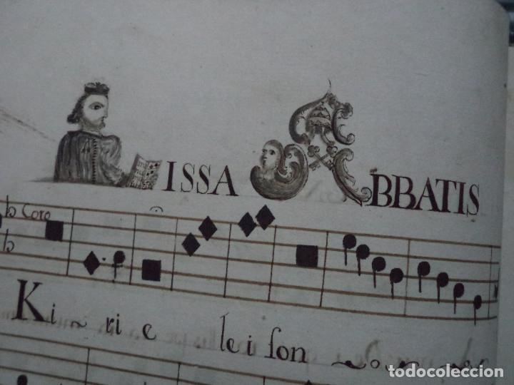 Libros antiguos: Curioso Cantoral Português Séc XVIII - Foto 90 - 142726294