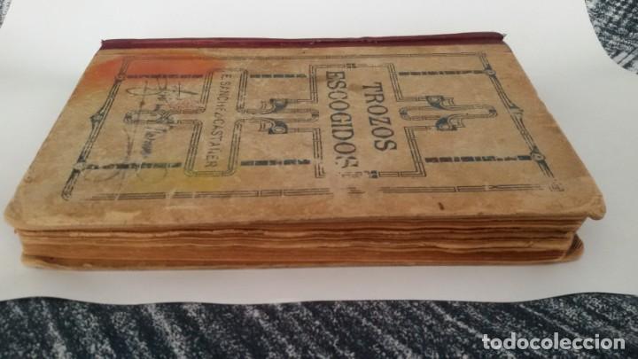 Libros antiguos: COLECCIÓN DE TROZOS ESCOGIDOS DE LA LITERATURA ESPAÑOLA. EDUARDO SANCHEZ CASTAÑER. SEVILLA 1921 - Foto 6 - 142769782