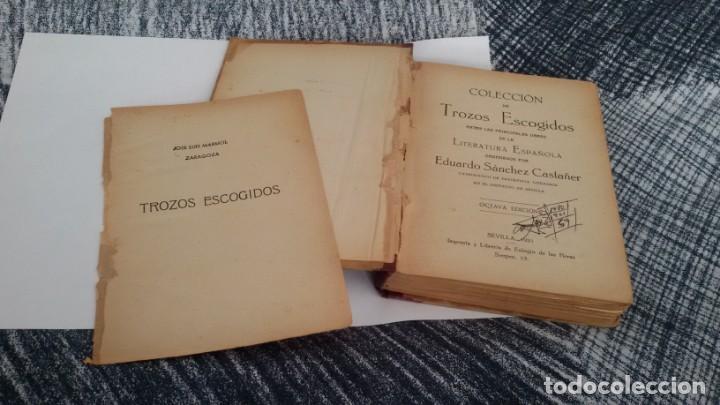 Libros antiguos: COLECCIÓN DE TROZOS ESCOGIDOS DE LA LITERATURA ESPAÑOLA. EDUARDO SANCHEZ CASTAÑER. SEVILLA 1921 - Foto 9 - 142769782