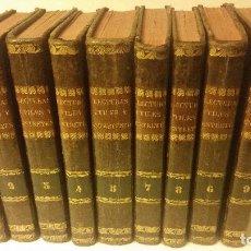 Libros antiguos: 1800-1816 CESPEDES Y MONROY - LECTURAS ÚTILES Y ENTRETENIDAS - 9 TOMOS. Lote 142849582