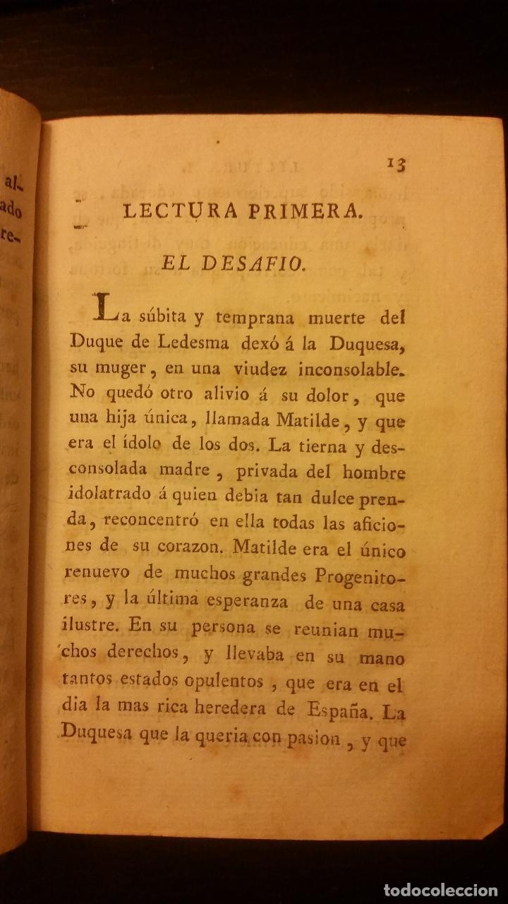 Libros antiguos: 1800-1816 CESPEDES Y MONROY - LECTURAS ÚTILES Y ENTRETENIDAS - 9 TOMOS - Foto 5 - 142849582