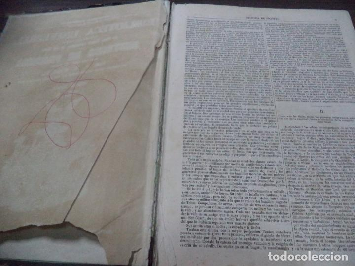 Libros antiguos: BIBLIOTECA UNIVERSL. HISTORIA DE FRANCIA. L. P. ANQUETIL. TOMO I. 1851. VER FOTOS. - Foto 3 - 142859466