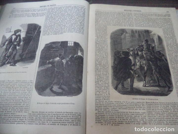 Libros antiguos: BIBLIOTECA UNIVERSL. HISTORIA DE FRANCIA. L. P. ANQUETIL. TOMO I. 1851. VER FOTOS. - Foto 4 - 142859466
