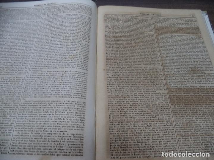 Libros antiguos: BIBLIOTECA UNIVERSL. HISTORIA DE FRANCIA. L. P. ANQUETIL. TOMO I. 1851. VER FOTOS. - Foto 6 - 142859466