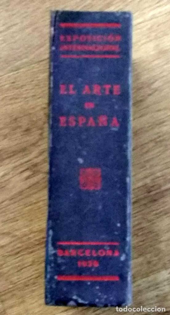 Libros antiguos: EL ARTE EN ESPAÑA. GUÍA DEL MUSEO DEL PALACIO NACIONAL. EXPOSICION INTERNACIONAL DE BARCELONA 1929 - Foto 2 - 142898702