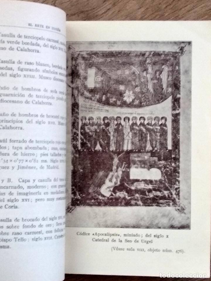 Libros antiguos: EL ARTE EN ESPAÑA. GUÍA DEL MUSEO DEL PALACIO NACIONAL. EXPOSICION INTERNACIONAL DE BARCELONA 1929 - Foto 6 - 142898702
