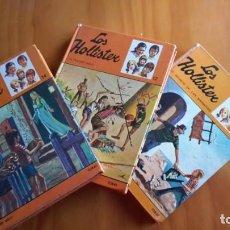 Libros antiguos: LOS HOLLISTER LOTE DE 3 LIBROS Nº 12, 14 Y 23. Lote 142976550