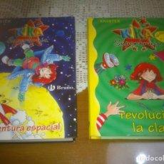 Libros antiguos: LOTE DOS LIBROS DE KIKA SUPERBRUJA. Lote 143079630