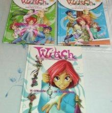 Libros antiguos: LOTE 3 COMIC DE WITCH. Lote 143082210