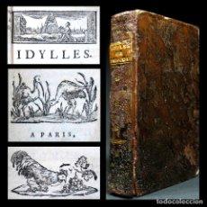 Libros antiguos: AÑO 1787 PARÍS ROMANCES E IDILIOS DE BERQUIN 2 TOMOS EN UN VOLÚMEN GRABADOS ENTRE EL TEXTO. Lote 109541559