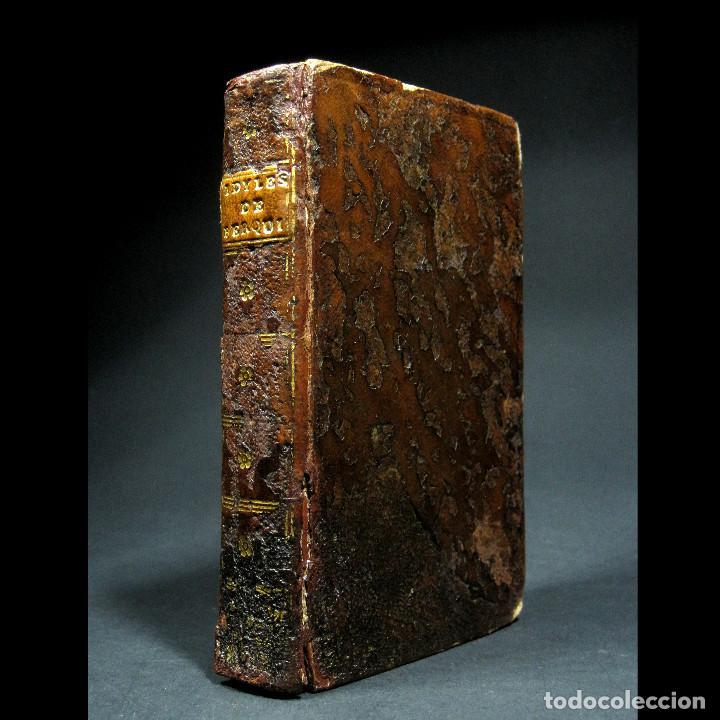 Libros antiguos: Año 1787 París Romances e Idilios de Berquin 2 tomos en un volúmen Grabados entre el texto - Foto 19 - 109541559