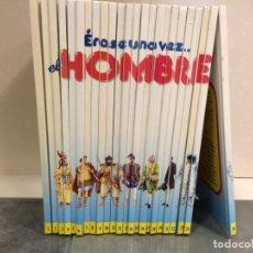 Libros antiguos: COLECCION ERASE UNA VEZ EL HOMBRE . Lote 143178666