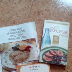 Libros antiguos: LIBRO LIBROS CUADERNOS DE RECETAS COCINA POSTRES COCACOLA. Lote 143181386