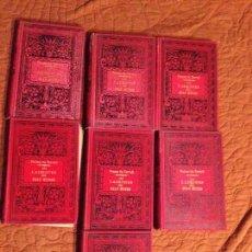 Libros antiguos: PONSON DU TERRAIL-LOS LADRONES DEL MUNDO -7 TOMOS. Lote 143209586