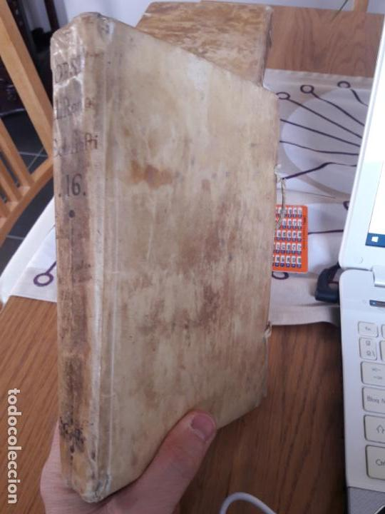 Libros antiguos: Volumen XVI de la Historia Eclesiastica de Joseph Orsi, Impresa en Madrid por Ibarra en 1756 RARO - Foto 2 - 143313378
