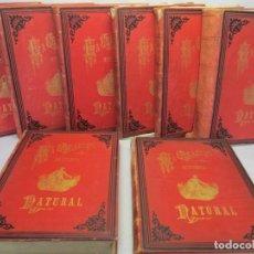 Libros antiguos: LA CREACION HISTORIA NATURAL. 8 TOMOS. COMPLETA. JUAN VILANOVA Y PIERA. ED MONTANER Y SIMON. 1872/6. Lote 143314270