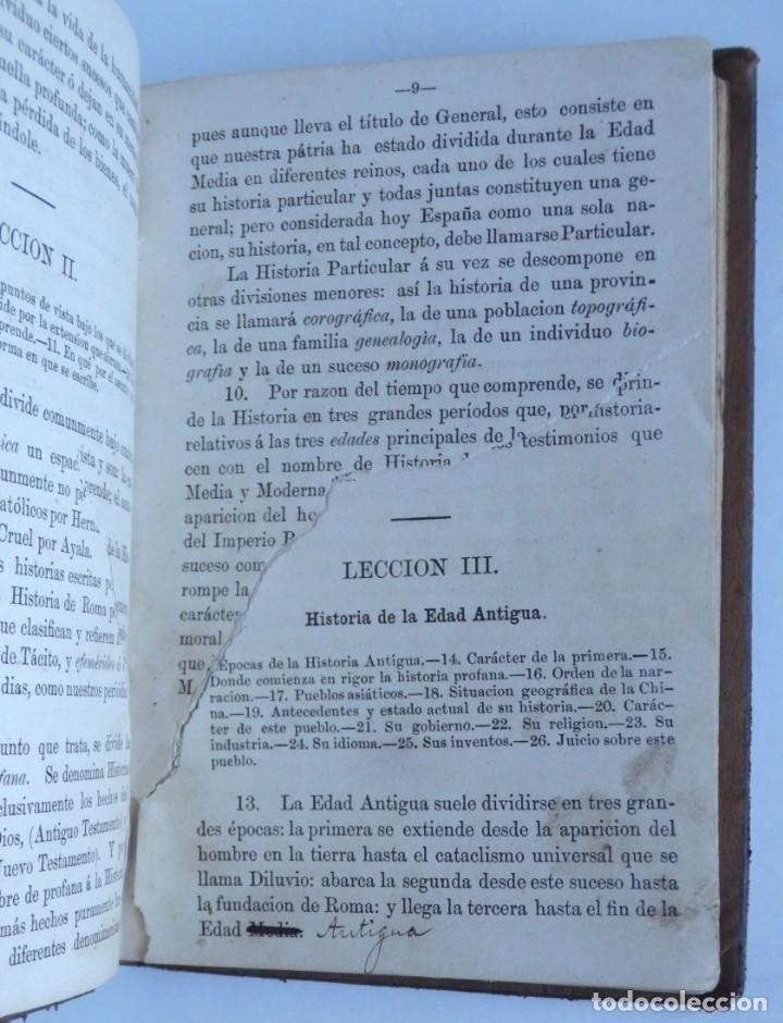 Libros antiguos: Historia Universal - Moreno - Foto 3 - 143323158