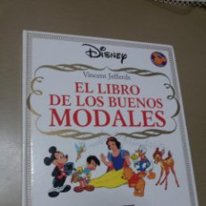 Libros antiguos: EL LIBRO DE LOS BUENOS MODALES. VICENT JEFFERDS. ED. DISNEY, EVEREST. Lote 143349542