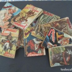 Libros antiguos: 22 NOVELAS EDICIONES SAFARI 14SAFARI Y 8 TRES CENTELLAS. Lote 143483270