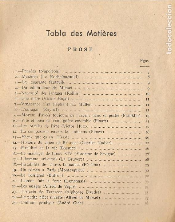 Libros antiguos: LIBRO, SELECCIÓN DE TROZOS DE LITERARIOS. POR G.A.P., PRIMERA EDICIÓN, 1938-IMP. MORET-LA CORUÑA - Foto 3 - 143579998