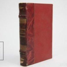 Libros antiguos: ANTOLOGÍA DE LA FELICIDAD CONYUGAL / BREVIARIO DEL AMOR EXPERIMENTAL - DR. JULES GUYOT - ESTUDIOS. Lote 143596810
