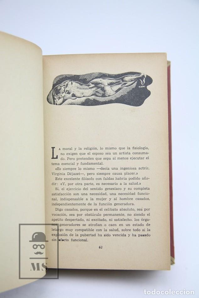 Libros antiguos: Antología de la Felicidad Conyugal / Breviario del Amor Experimental - DR. Jules Guyot - Estudios - Foto 4 - 143596810
