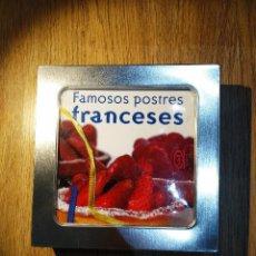Libros antiguos: FAMOSOS POSTRES FRANCESES JEAN CHRISTOPHE PRIOUX Y PARA COMER CON LAS MANOS DE PÍA FENDRIK. Lote 143607878