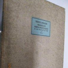 Libros antiguos: RUDOLF BERLINER MODELOS ORNAMENTALES DE LOS SIGLOS XV - XVIII - TEXTO - EDITORIAL LABOR 1928. Lote 143656370
