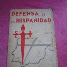 Libros antiguos: DEFENSA DE LA HISPANIDAD. RAMIRO DE MAEZTU. 2ª ED. MADRID, 1934 L5. Lote 143673854