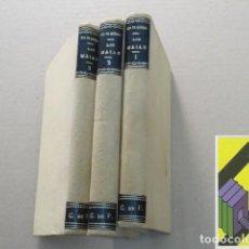 Libros antiguos: QUEIROZ, EÇA DE: LOS MAIAS. EPISODIOS DE LA VIDA ROMÁNTICA (3 VOLS) (TRAD:AUGUSTO RIERA). Lote 143692966